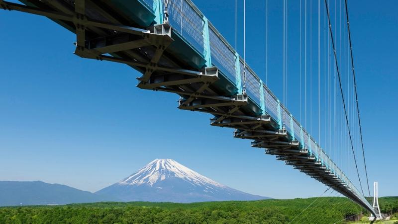 画像:日本最長の吊り橋 三島スカイウォーク